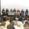 Debatedores criticaram atuação de empresas multinacionais e a flexibilização das relações de trabalho