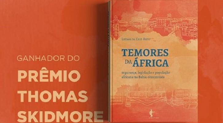 Livro publicado pela Edufba vence prêmio Thomas Skidmore