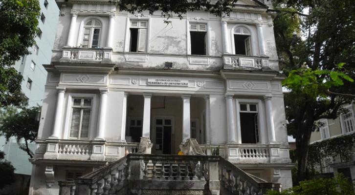 Residência Universitária 1, no Corredor da Vitória, será reformada