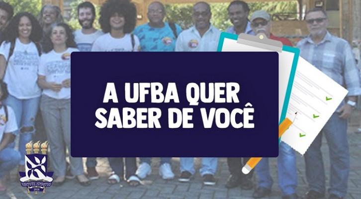 UFBA realiza pesquisas para conhecer condições de sua comunidade em meio à pandemia