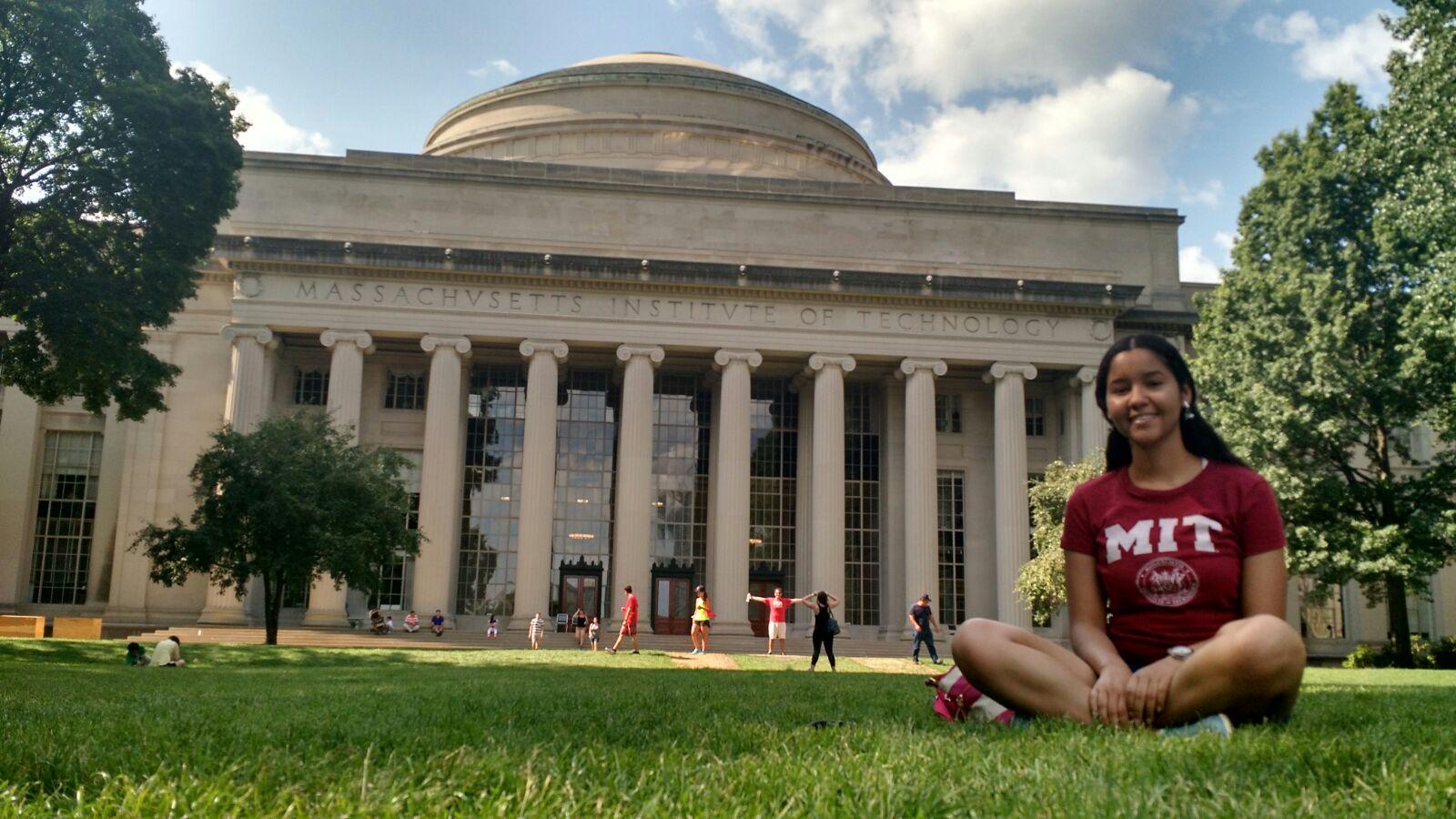 Roseane dos Reis Silva no MIT