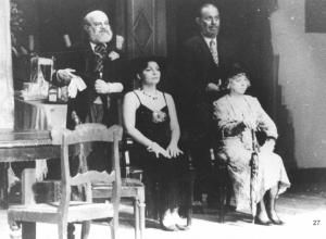 Espetáculo Tango (1987), com Nilda Spencer, Harildo Déda e Cleise Mendes no elenco.