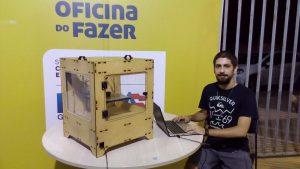 Jorge Batista, egresso do BI da UFBA que levará invenções à CampusParty Bahia