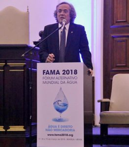Reitor no lançamento do FAMA 2018