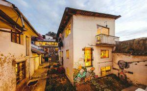 'Casa en Construccíon' sede do coletivo Al Borde