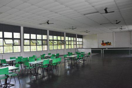 Espaço para instalação do futuro restaurante universitário
