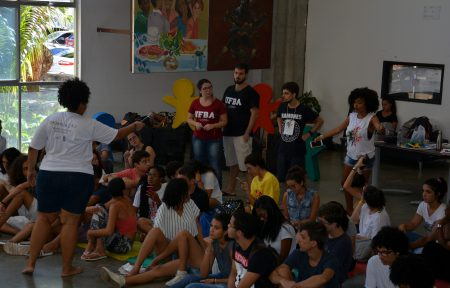 Recepção Unificada Interdisciplinar reuniu estudantes do IHAC