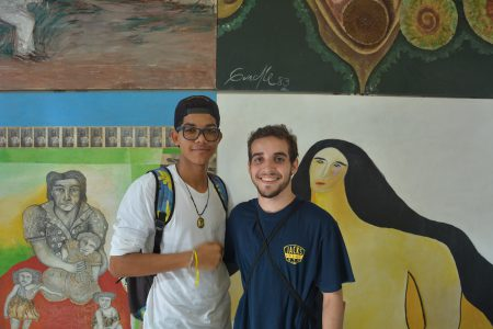 Álvaro Rabelo e Marcelo Serpa estão entre os novos estudantes dos Bacharelados Interdisciplinares