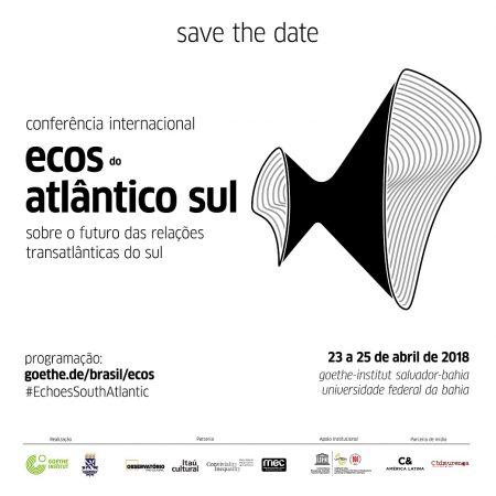 A conferência é organizada pela UFBA e pelo Instituto Goethe da Bahia