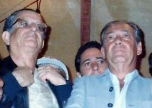 Waldir Pires com Roberto Santos e Luiz Leal