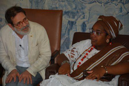 Paulo Miguez destacou a importância cultural do recôncavo baiano, das suas matriarcas e líderes religiosas
