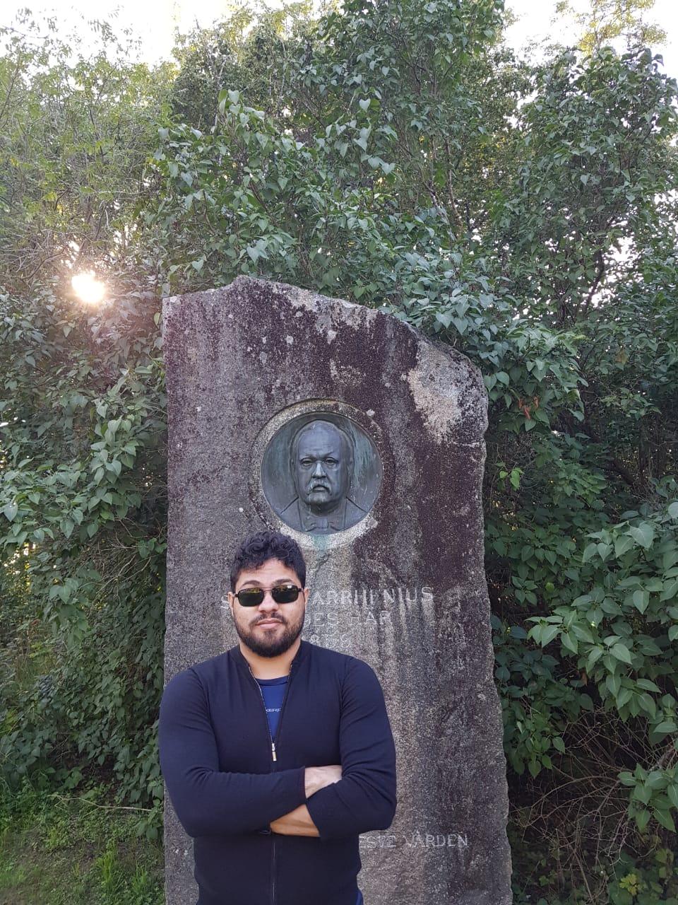 Rodrigo Carvalho na Suécia