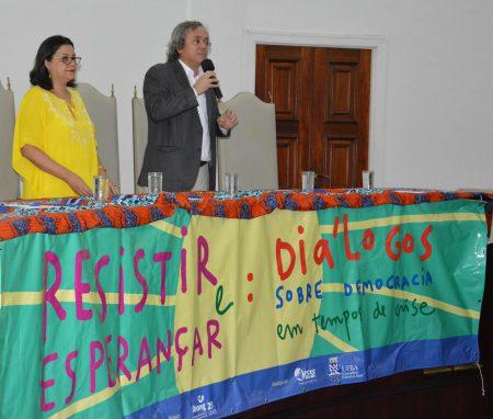 Reitor da UFBA João Carlo Salles reafirmou a universidade como lugar do pensamento, que deve se expressar de forma livre, em uma construção democrática e coletiva
