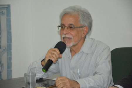"""Maurício Barreto falou da sua trajetória acadêmica na UFBA, a quem se referiu como sua """"alma mater"""""""