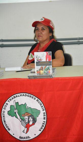 Djacira Araújo, uma das primeiras militantes do Movimento Sem Terra (MST) a entrar na universidade e concluir o mestrado na Faculdade de Educação da UFBA