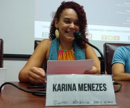 """Karina Menezes: """"Os princípios da cultura hacker se pautam na abertura e na colaboração e tem nas tecnologias um poder criador"""""""