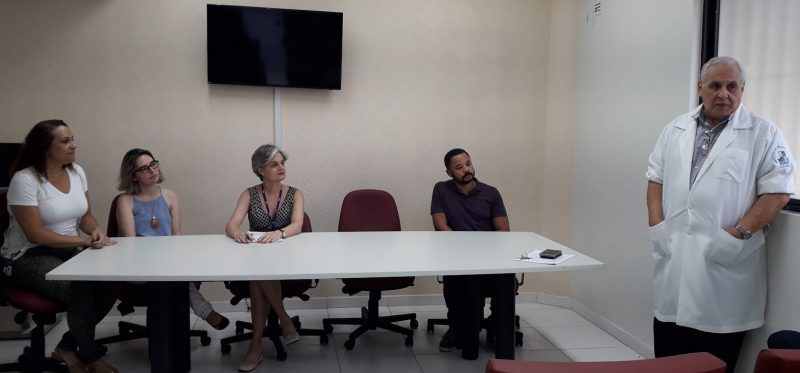 O evento de implantação do novo Programa de Pós-Graduação contou com a presença do diretor do Instituto de Ciências da Saúde, Roberto Paulo Araújo