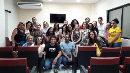 Professores, estudantes e técnicos celebraram a criação do PPG-REAB, que será inaugurado em 2020, com uma perspectiva ampliada de Reabilitação e Saúde