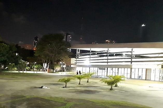 UFBA à noite