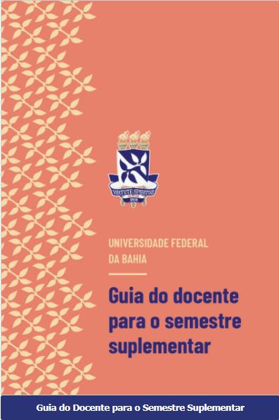 capa do Guia do docente