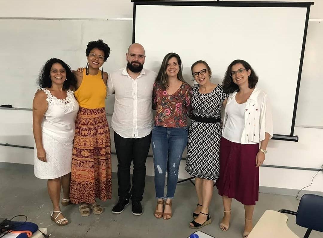 Claudia Sepúlveda, Barbara Carine, Roberto Dalmo, Ayane Paiva, Rosiléia Oliveira e Ana Paula Guimarães