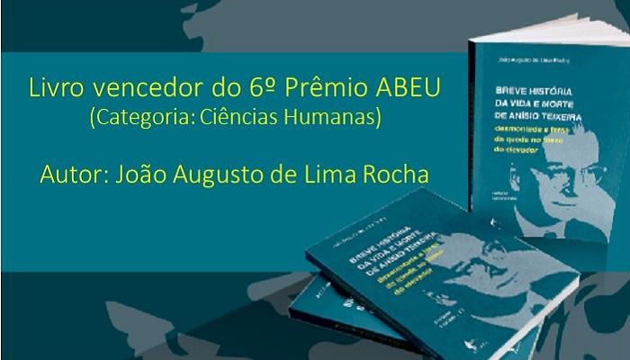 Livro vencedor do 6º Prêmio ABEU_capa